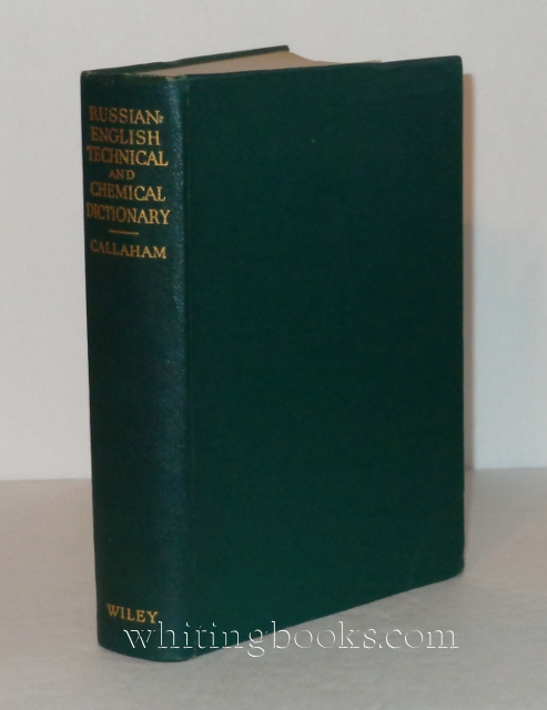 Russian-English Technical and Chemical Dictionary