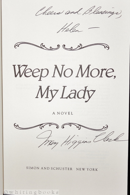 Image for Weep No More, My Lady (SIGNED)