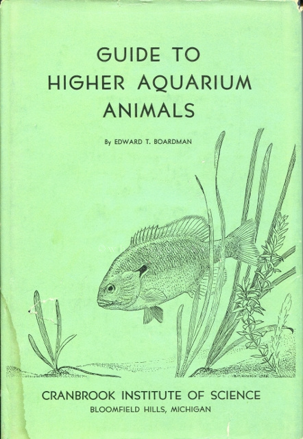 Image for Guide to Higher Aquarium Animals