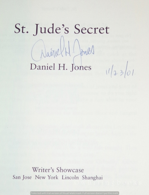 Image for St. Jude's Secret