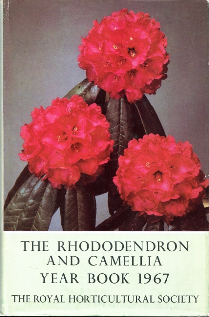 Image for The Rhododendron and Camellia Yearbook 1967: Number Twenty-one