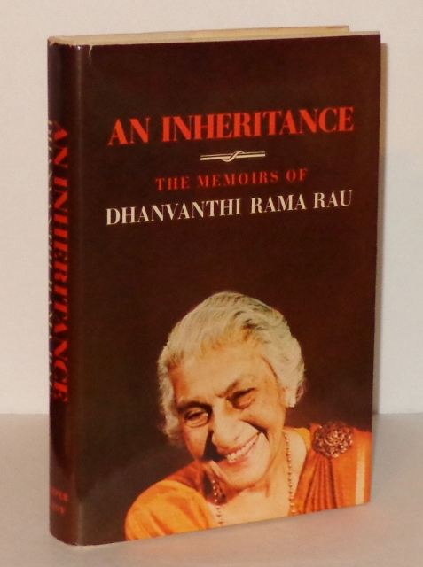 Image for An Inheritance : The Memoirs of Dhanvanthi Rama Rau
