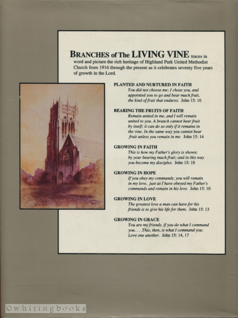 Image for Branches of the Living Vine, 1916-1991 : A Seventy-Five Year History of Highland Park United Methodist Church