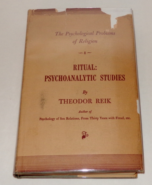 Image for Ritual: Psychoanalytic Studies