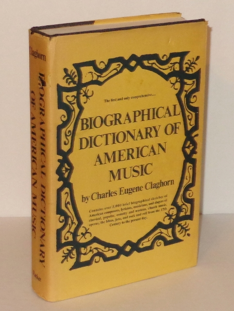 Image for Biographical Dictionary of American Music