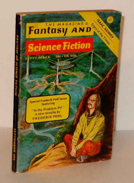 Image for The Magazine of Fantasy and Science Fiction; Vol. 45, No. 3; September 1973