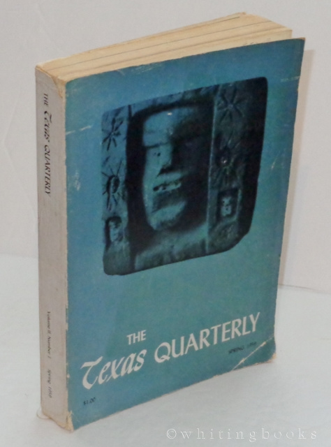 Image for The Texas Quarterly, Volume II, Number I, Spring 1959, with Supplement: The Muse in Mexico