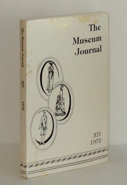 Image for The Museum Journal XIV 1972 (West Texas Museum Association): Flashes of Fashion 1830-1972
