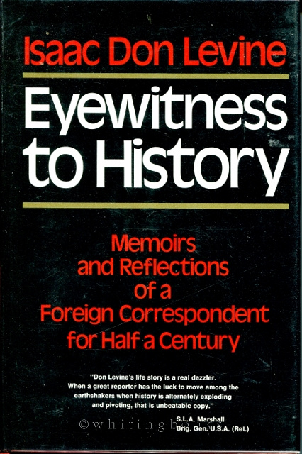 Image for Eyewitness to History : Memoirs and Reflections of a Foreign Correspondent for Half a Century