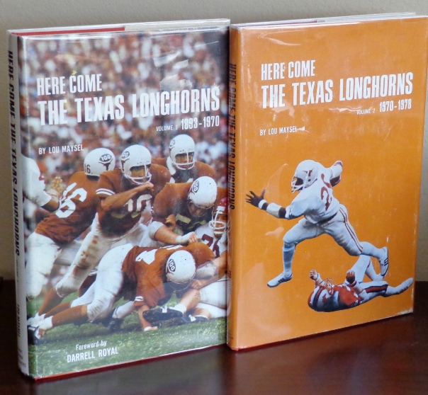 Image for Here Come the Texas Longhorns - Two Volumes: Volume 1 (1893-1970), Volume 2 (1970-1978)