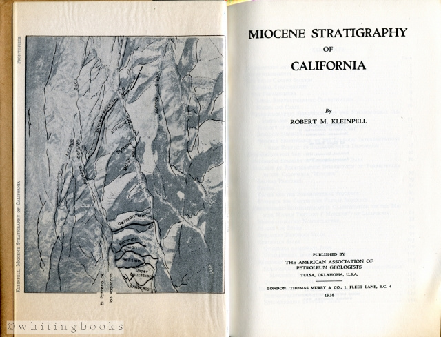 Image for Miocene Stratigraphy of California