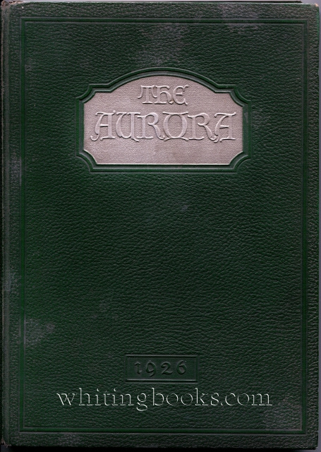 Image for The Aurora '26: Olivet College Yearbook, Volume Thirteen, 1926