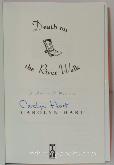 Image for Death on the River Walk: A Henrie O. Mystery
