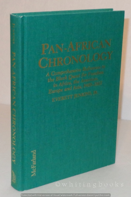 Image for Pan-African Chronology: A Comprehensive Reference to the Black Quest for Freedom in Africa, the Americas, Europe and Asia, 1400-1865