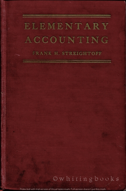 Image for Elementary Accounting