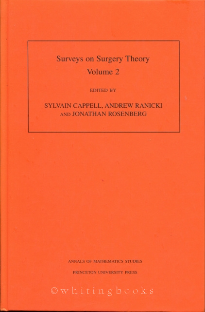Image for Surveys on Surgery Theory, Volume 2: Papers Dedicated to C.T.C. Wall
