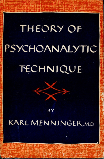 Image for Theory of Psychoanalytic Technique