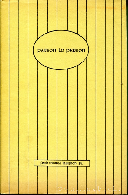 Image for Parson to Person: a Book of Christian Experiences Related to Life Situations