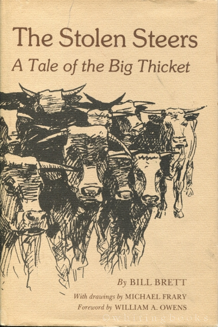 Image for The Stolen Steers: A Tale of the Big Thicket