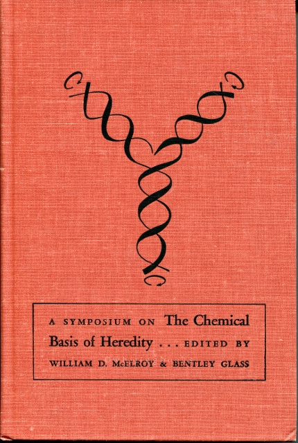 Image for A Symposium on the Chemical Basis of Heredity