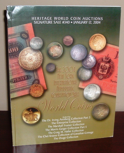 Image for The 2004 New York International Numismatic Convention Sale