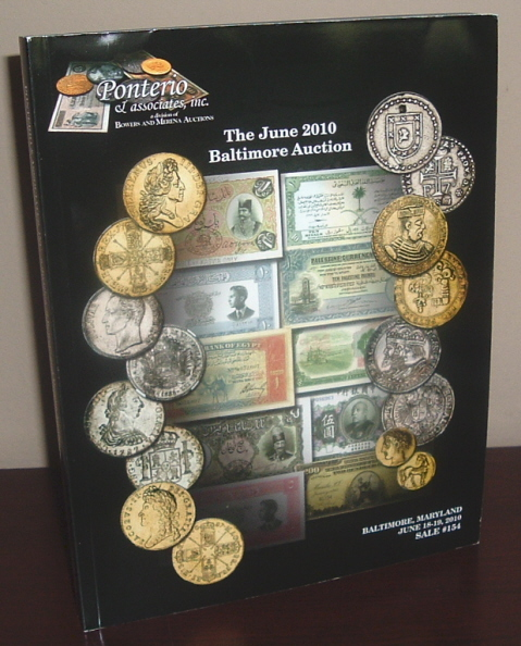 Image for Ponterio & Associates Sale #154: The June 2010 Baltimore Auction [Coin Auction Catalog]