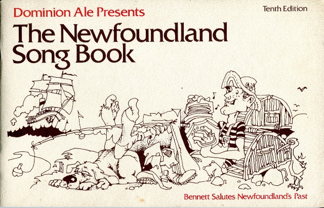 Image for Dominion Ale Presents the Newfoundland Song Book, Bennett Salutes Newfoundland's Past
