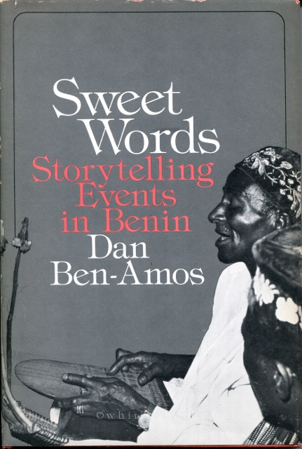 Image for Sweet Words: Storytelling Events in Benin