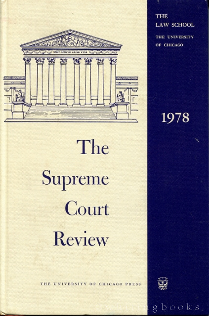 Image for The Supreme Court Review 1978