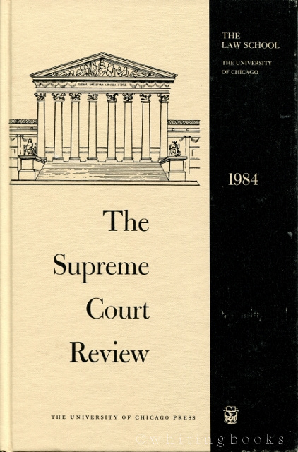 Image for The Supreme Court Review 1984