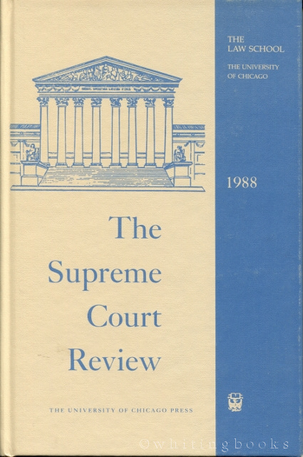 Image for The Supreme Court Review 1988