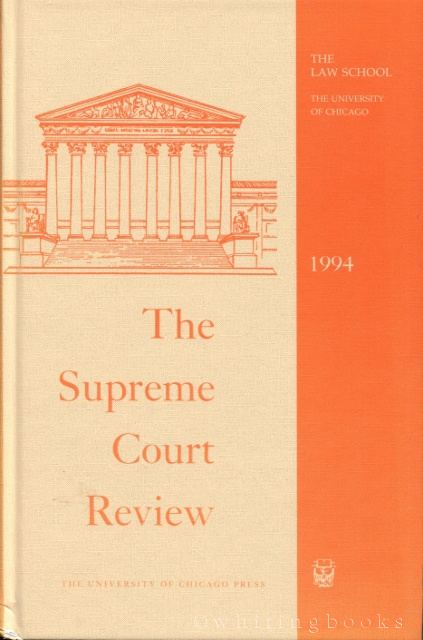 Image for The Supreme Court Review 1994