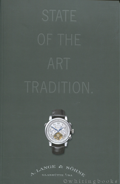 Image for A. Lange & Sohne Watch Catalogue: State of the Art Tradition