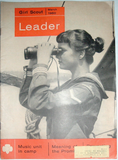 Image for Girl Scout Leader Magazine, March 1960, Vol. 37, No. 3