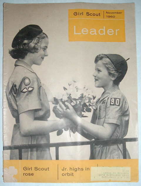 Image for Girl Scout Leader Magazine, November 1960, Vol. 37, No. 8