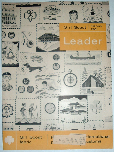 Image for Girl Scout Leader Magazine, February 1961, Vol. 38, No. 2