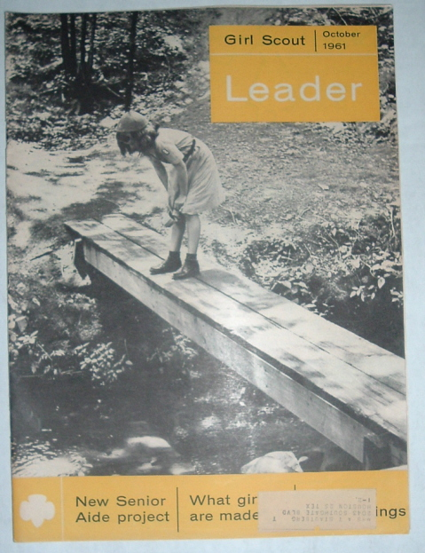 Image for Girl Scout Leader Magazine, October 1961, Vol. 38, No. 7