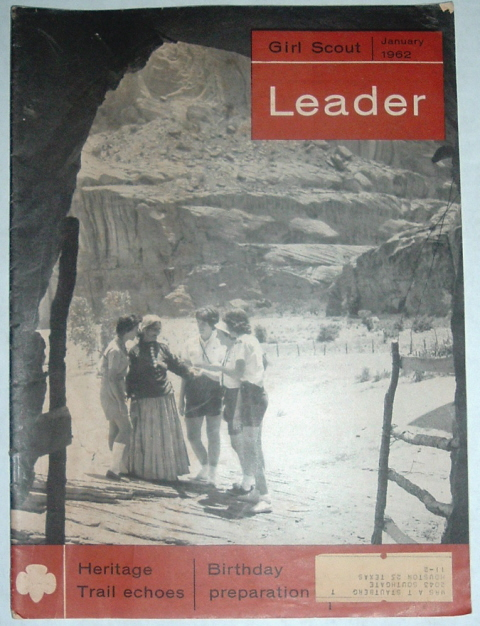 Image for Girl Scout Leader Magazine, January 1962, Vol. 39, No. 1