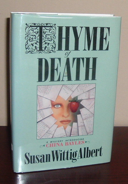 Image for Thyme of Death: A Mystery Introducing China Bayles