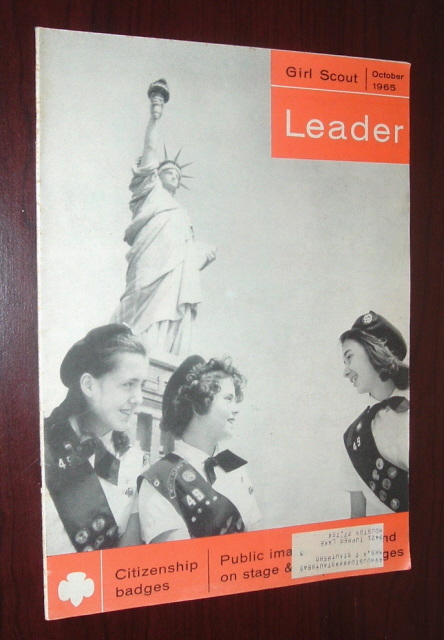 Image for Girl Scout Leader Magazine, October 1965, Vol. 42, No. 8