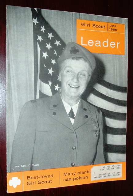 Image for Girl Scout Leader Magazine, June 1965, Vol. 42, No. 6
