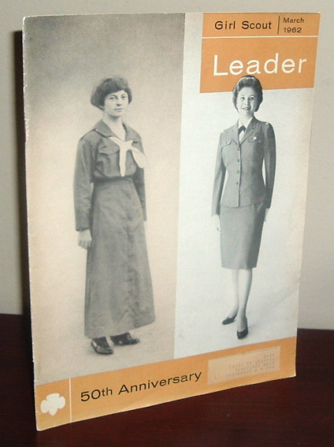 Image for Girl Scout Leader Magazine, March 1962, Vol. 39, No. 3 - 50th Anniversary Issue