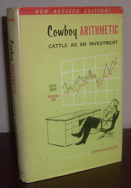Image for Cowboy Arithmetic: Cattle as an Investment