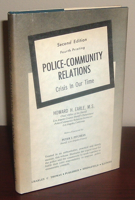 Image for Police-Community Relations: Crisis in Our Time