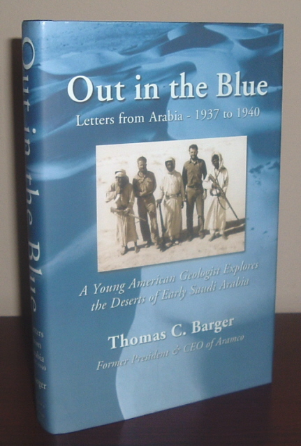 Image for Out in the Blue: Letters from Arabia 1937-1940