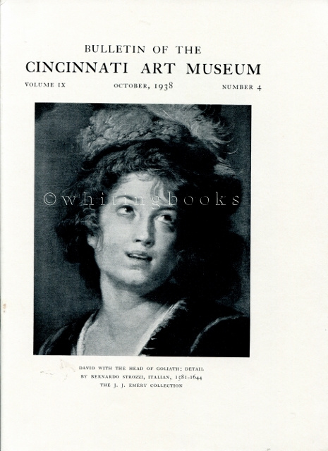 Image for Bulletin of the Cincinnati Art Museum, Volume IX, Number 4,  October 1938