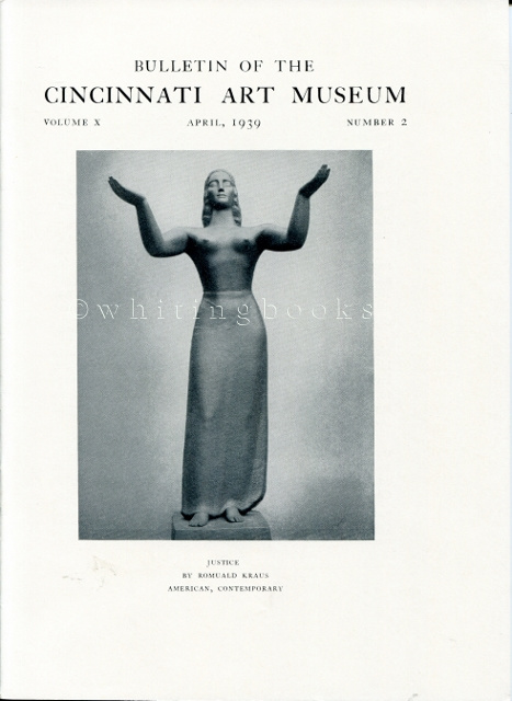 Image for Bulletin of the Cincinnati Art Museum, Volume X, Number 2,  April 1939
