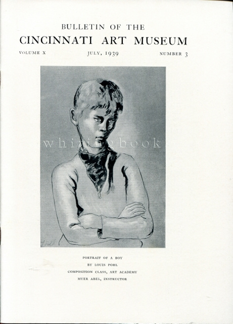 Image for Bulletin of the Cincinnati Art Museum, Volume X, Number 3,  April 1939