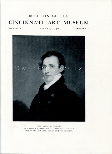 Image for Bulletin of the Cincinnati Art Museum, Volume XI, Number 1,  January 1940