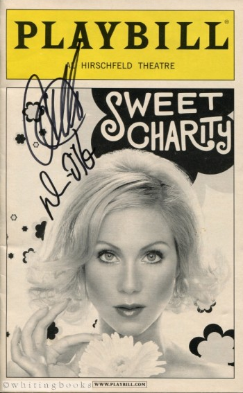 Image for Sweet Charity Playbill Signed by Christina Applegate and Denis O'Hare